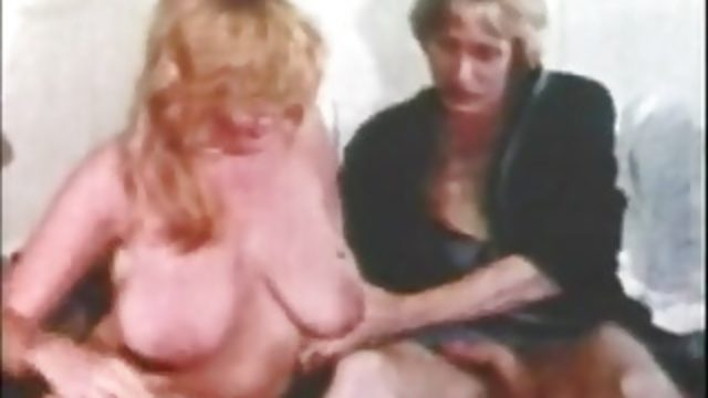 Busty Blonde Fucks Husband's Brother (1970s Vintage)