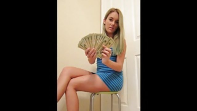 GIRL TAKES YOUR MONEY