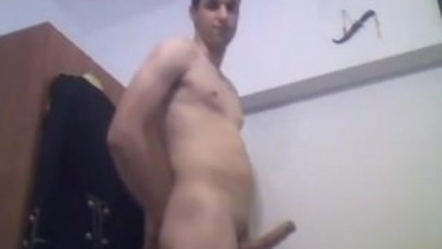 Super Hot Handsome Boy With Rock Hard Big Cock Cums,Nice Ass On Cam